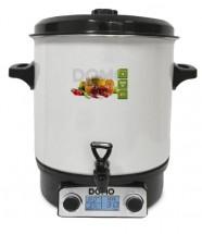 Zavařovací hrnec Domo DO42324PC, bílý smalt, display