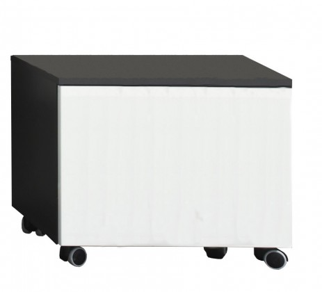 Závěsná Beach - Mobilní kontejner  (šedá, bílá)