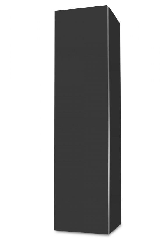 Závěsná Brisbane - závěsná skříň nízká,panty vlevo (antracit)