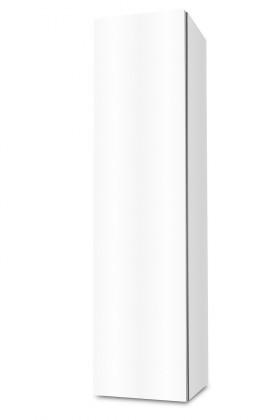 Závěsná Brisbane - závěsná skříň nízká,panty vlevo (bílá)
