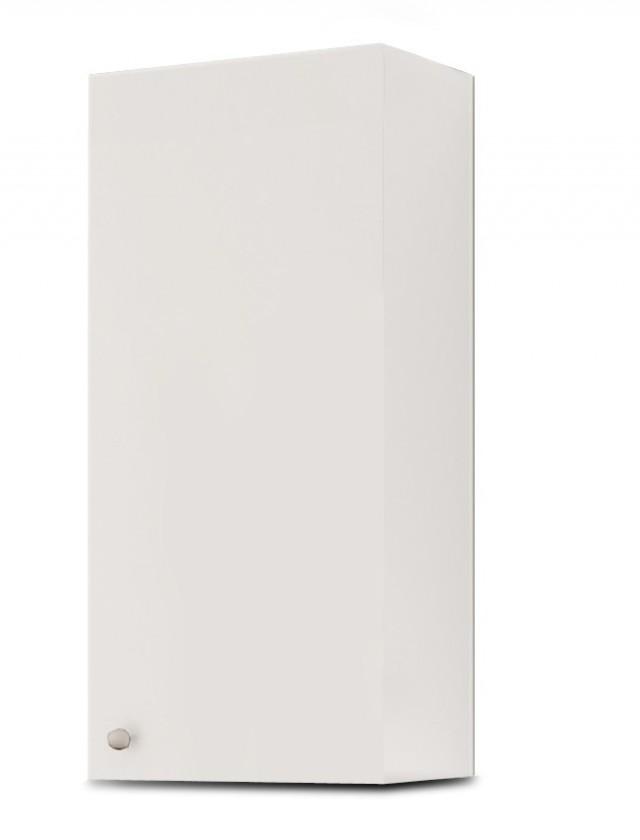 Závěsná Messina - Skříňka W30 otevírání vpravo (bílá,boky bílé)