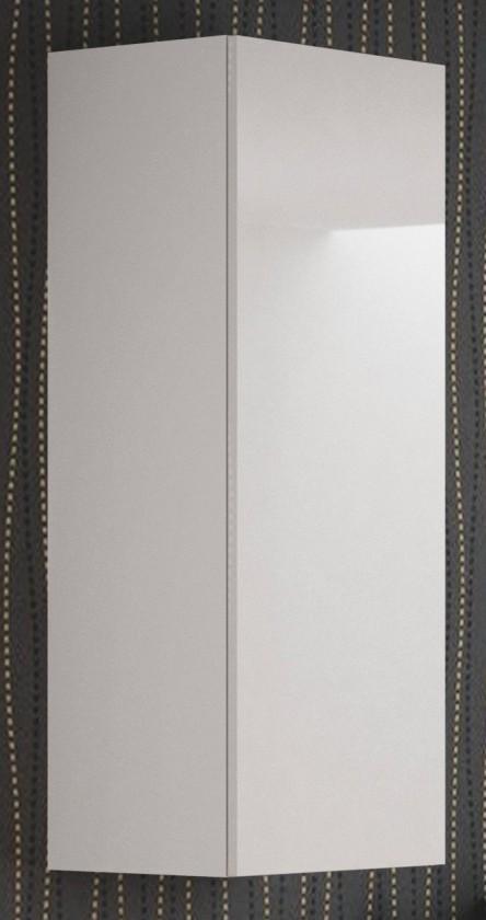 Závěsná skříňka Livo - Závěsná skříňka 120 (bílá mat/bílá lesk)