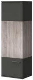 Závěsná skříňka Mellow Typ 25 (Dub bardolino/grafit vysoký lesk)