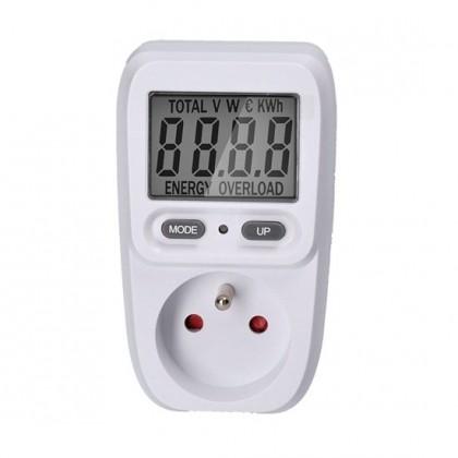 Zkoušečky na Multimetry a zkoušečky Digitální měřič spotřeby elektrické energie Solight DT26