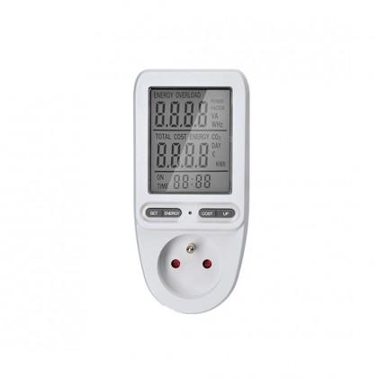Zkoušečky na Multimetry a zkoušečky Digitální měřič spotřeby elektrické energie Solight DT27