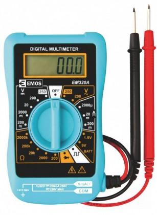 Zkoušečky na Multimetry a zkoušečky Multimetr Emos MD-110, 200-250V
