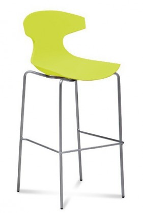 Zlevněné kuchyně, jídelny Barová židle Echo pistáciová - II. jakost
