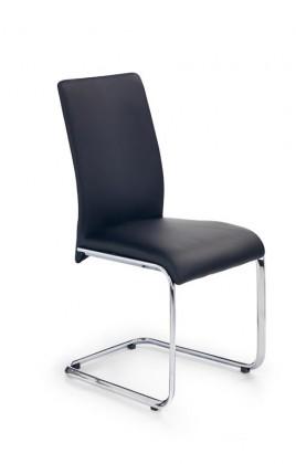 Zlevněné kuchyně, jídelny Jídelní židle Emilio (eko kůže černá,ocel) - II. jakost