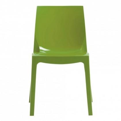 Zlevněné kuchyně, jídelny Jídelní židle Ice (verde) - II. jakost