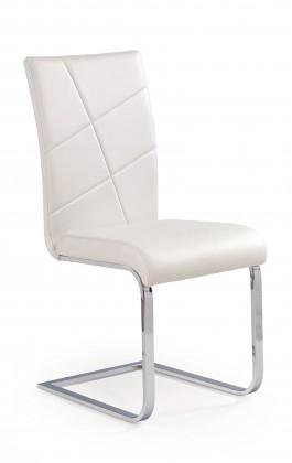 Zlevněné kuchyně, jídelny Jídelní židle K108 bílá - II. jakost
