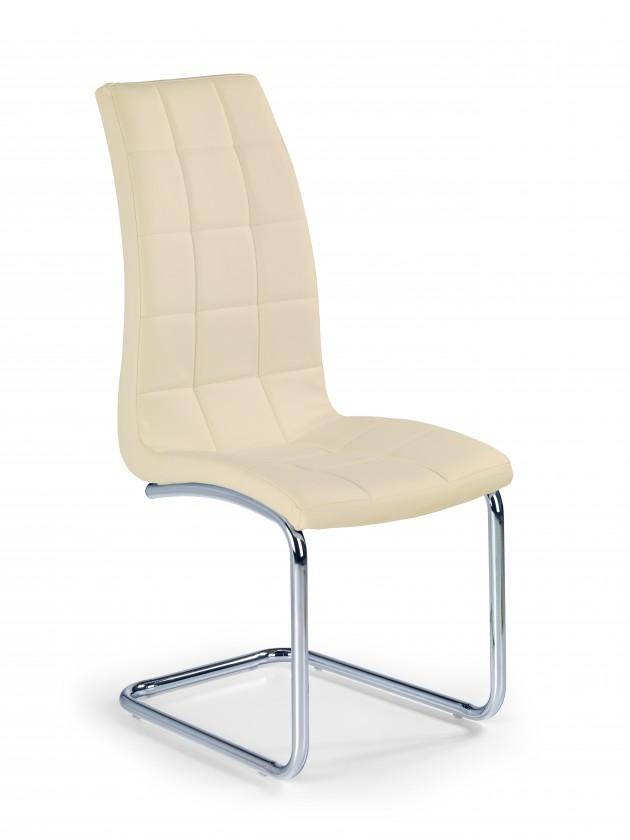Zlevněné kuchyně, jídelny Jídelní židle K147(béžová, stříbrná) - II. jakost