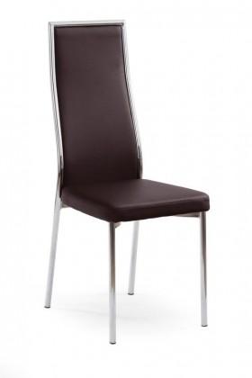 Zlevněné kuchyně, jídelny K86 - Jídelní židle (tmavě hnědá)