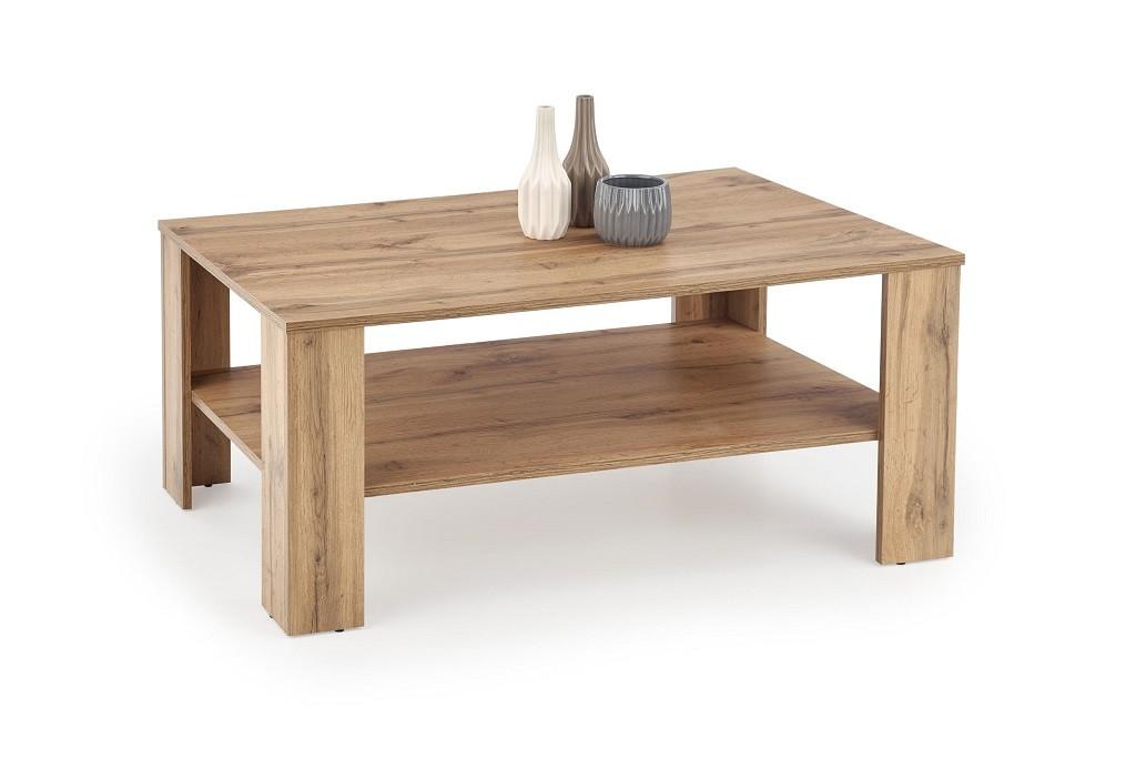 Zlevněné obývací pokoje Konferenční stolek Kwadro (wotan) - PŘEBALENO