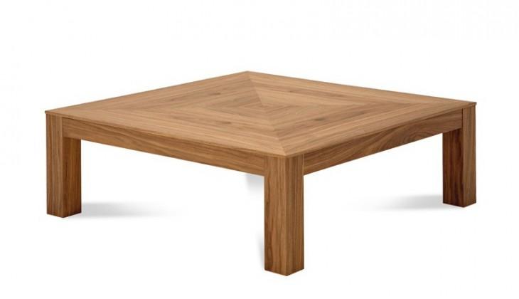 Zlevněné obývací pokoje Next-10 - Konferenční stolek (ořech) - II. jakost