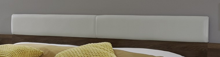 Zlevněné postele Opěrka hlavy Imola - čalouněná (champagne, nocce)