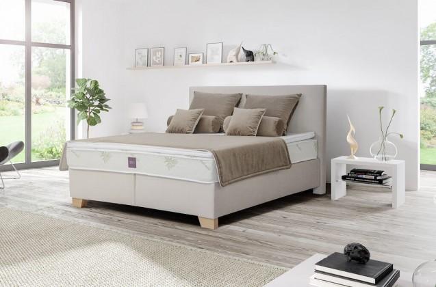 Zlevněné postele Postel Boxspring Jacob 180x200 cm, bez ÚP - II. jakost