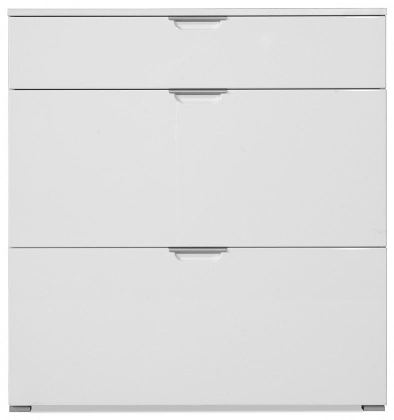 Zlevněné předsíně GW-Gala - Botník, 1x zásuvka, 2x výklopné dveře (bílá)