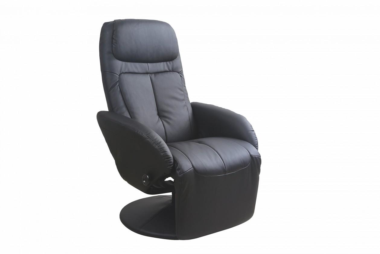 Zlevněné sedací soupravy Křeslo Optima černá - Z EXPOZICE