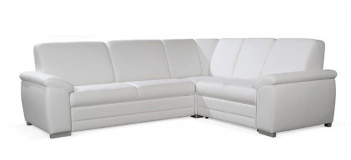 Zlevněné sedací soupravy Sedačka Nuuk (cayenne 1111 white) - II. jakost