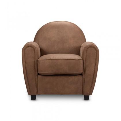 Zlevněné sedačky Křeslo Wilson hnědá - Z EXPOZICE