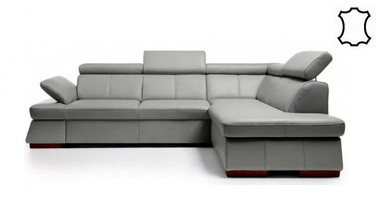Zlevněné sedačky Rohová sedačka rozkládací Malpensa pravý roh ÚP -II. jakost