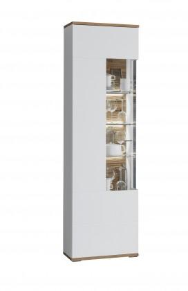 Zlevněné skříně Obývací skříň Wotan - typ 1, levá - II. jakost