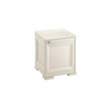 Zlevněné zahrady Skříňka Omnimodus - 8085562/210 (bílá) - II. jakost