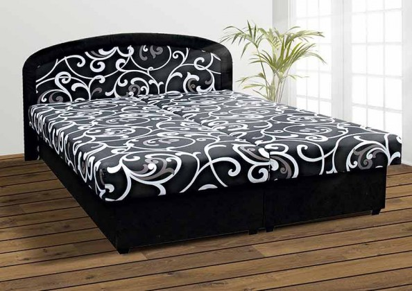 Zofie - Postel 160x200 (černá)