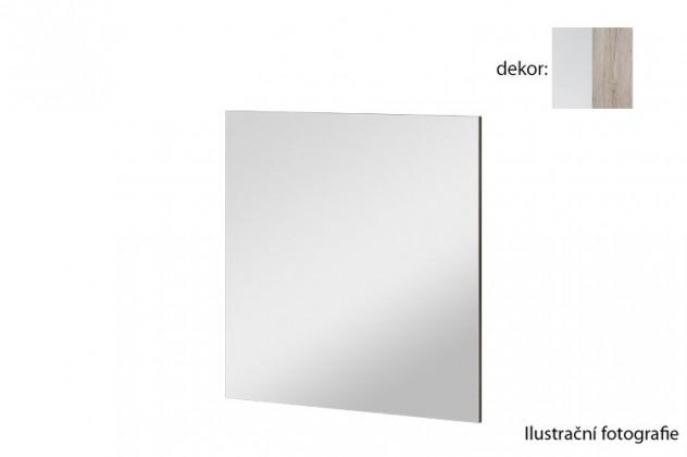 Zrcadlo Arya Typ 08(bílá arctic/dub san remo pískový)