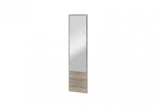 Zrcadlo Arya Typ 09(dub san remo pískový/bílá arctic vysoký lesk)
