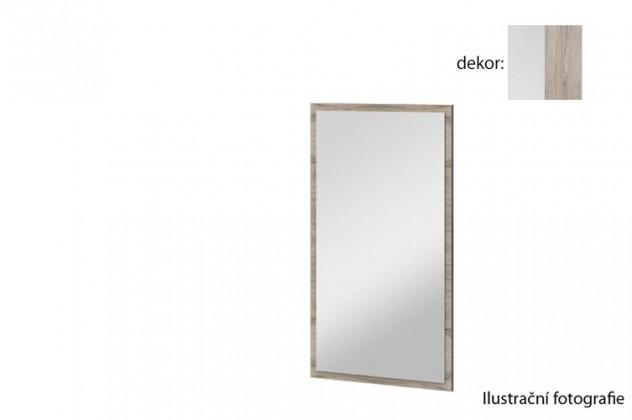 Zrcadlo Arya Typ 10(bílá arctic/dub san remo pískový)