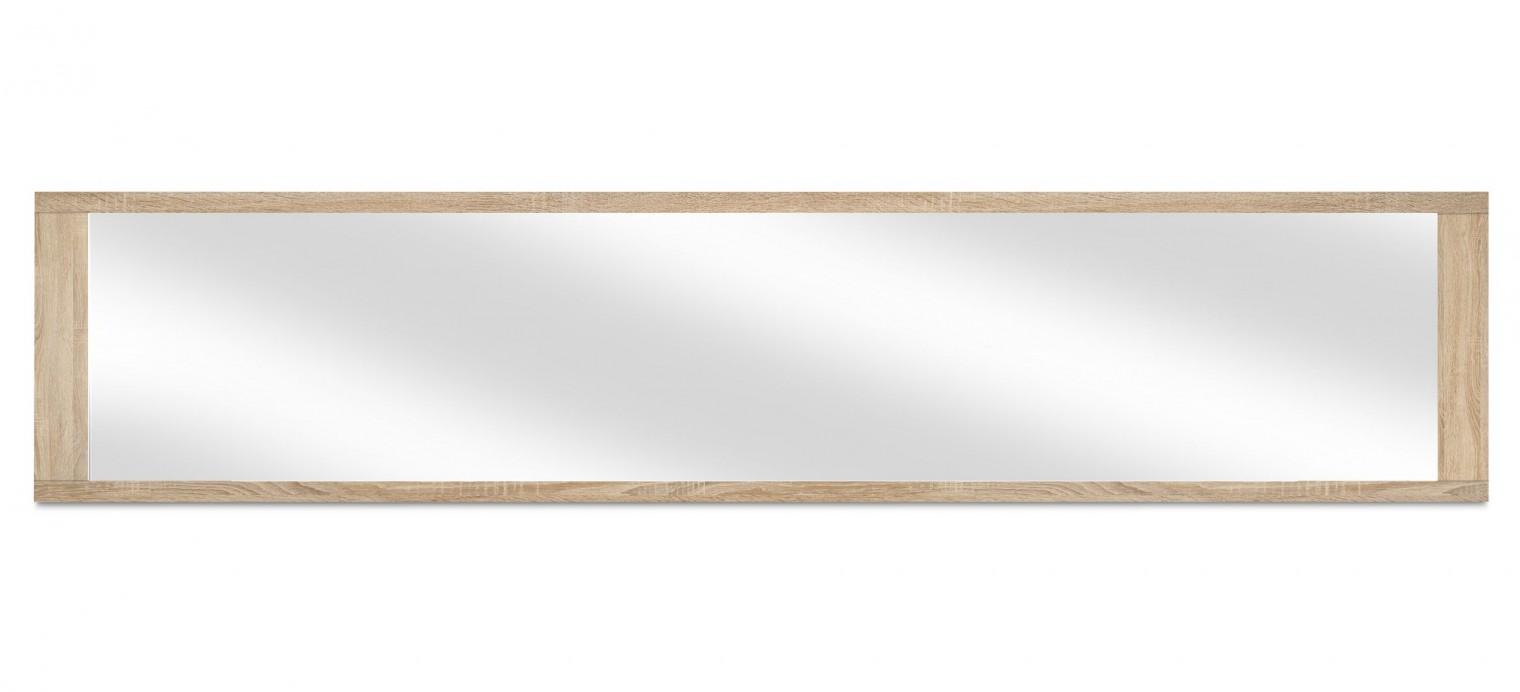 Zrcadlo Cool - Závěsné zrcadlo (dub HN/dub HN)