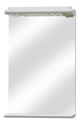 Zrcadlo do koupelny Union - Zrcadlo s halogenovým osvětlením 50 cm