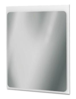 Zrcadlo do koupelny Zrcadlový panel 56 cm (bílá vysoký lesk)