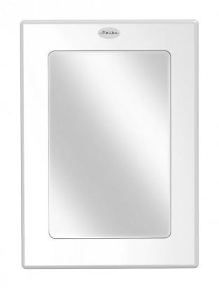 Zrcadlo Malibu - Zrcadlo (bílá, 80x57 cm)