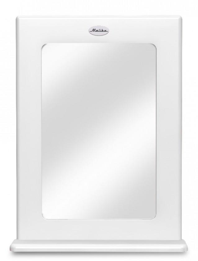 Zrcadlo Malibu - Zrcadlo (bílá)