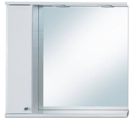 Zrcadlová galerka G 249 s halogenovým osvětlením levá (zrcadlo)