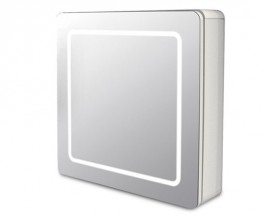 Zrcadlová skříňka ZS 240 s LED osvětlením (zrcadlo)