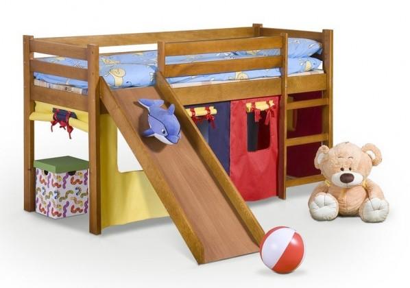 Zvýšená postel Dětská postel Neo Plus - zvýšená (olše)