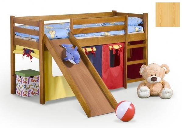Zvýšená postel Neo Plus (borovice)