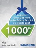 Získej příspěvek 1000 Kč na Samsung Galaxy S5 mini nebo Galaxy S4 mini