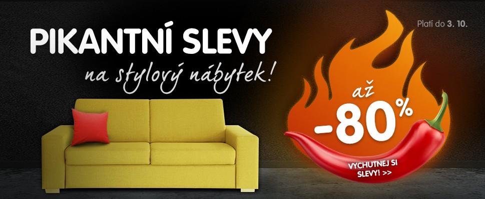 Vychutnej si pikantní slevy na stylový nábytek!