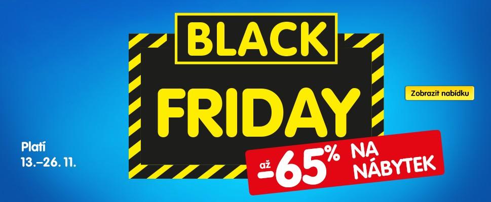 Využij Black Friday a zkrášli si domov se slevou až 65 %!