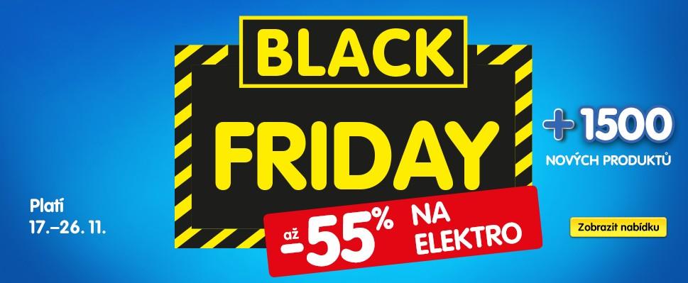 Black Friday v OKAY: Elektro se slevou až 55 %!