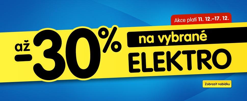 Elektro se slevami až 30 %: Poslední šance na vánoční dárky výhodně je tu!
