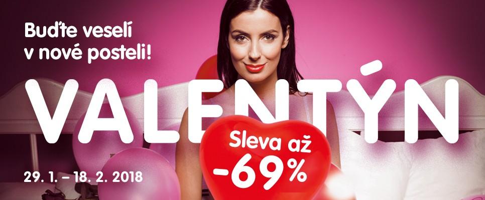 Užij si Valentýn s až 69% slevami na nábytek!