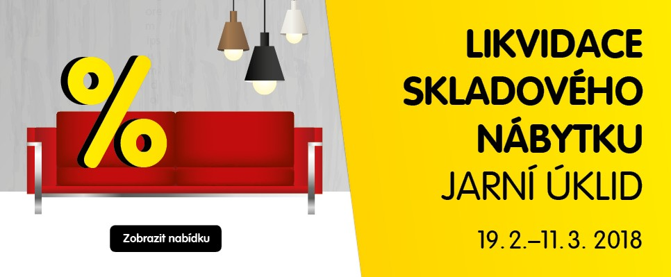 Likvidace skladů: Přijď si pro stylový nábytek za super cenu!