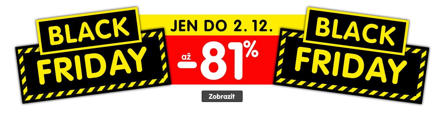 Black Friday na elektro - slevy až 81 %