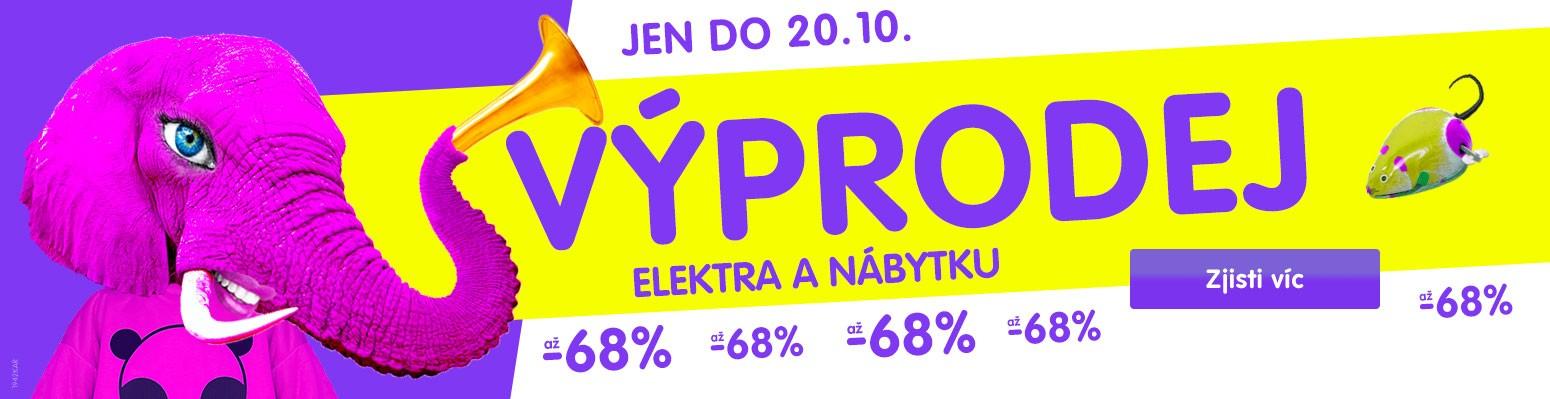 Výprodej se slevami až -68 % 14.-20. 10.
