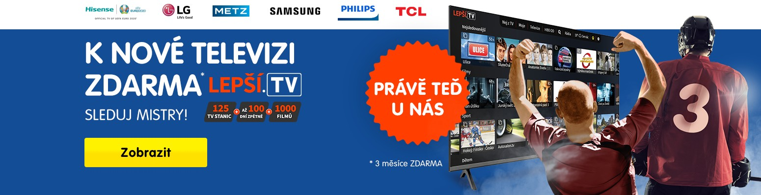 K nové televizi zdarma Lepší.TV